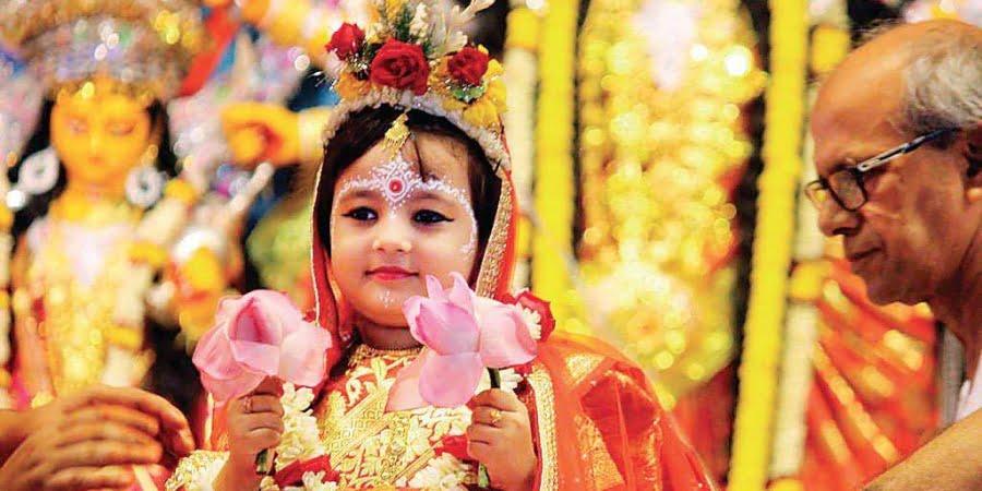 Durga Pooja - Kanya Pooja