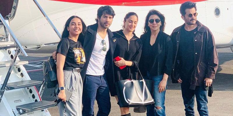 Jug Jug Jiyo cast Varun Dhawan, Kiara Advani, Anil Kapoor, Neetu Kapoor, MostlySane aka Prajakta Koli