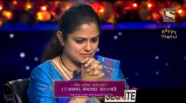 Mohita Sharma in KBC