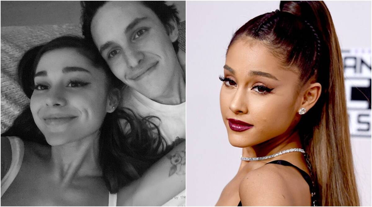 Ariana Grande engagement pictures