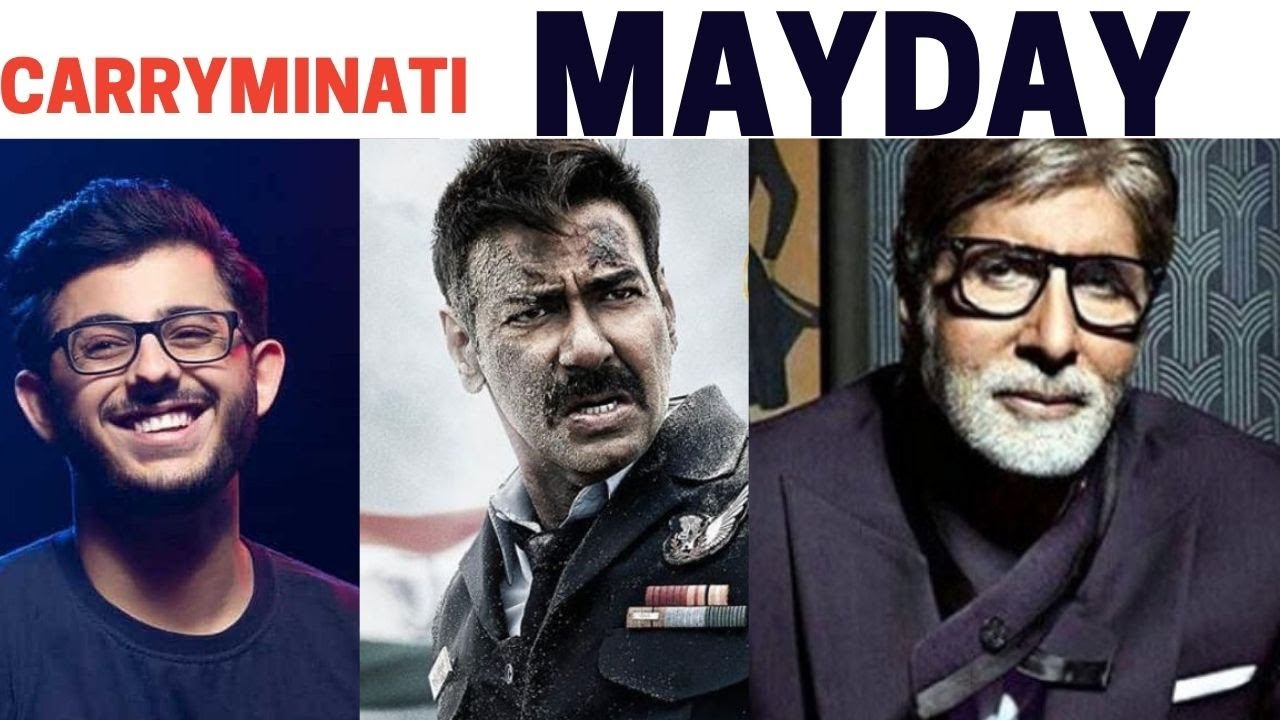 Carry Minati to debut as an actor in the film with Amitabh Bachchan and Ajay Devgn starrer Mayday
