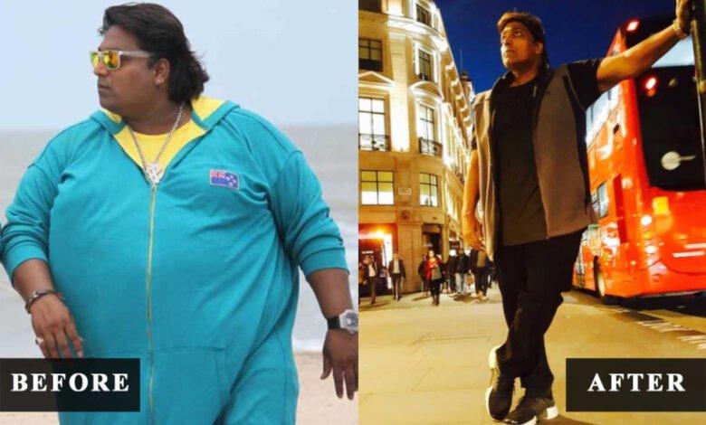 Ganesh Acharya weight loss