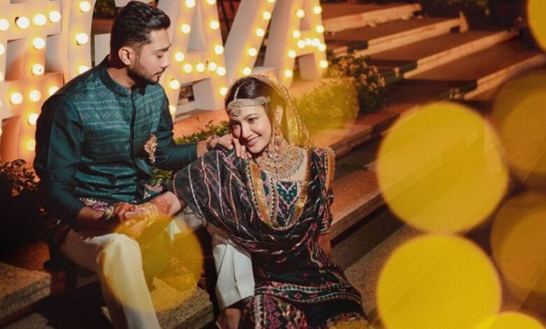 Gauhar Khan and Zaid Darbar marriage pictures