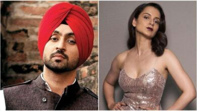 Photo of Diljit Dosanjh and Kangana Ranaut are having a massive argument over Twitter: Farmers Protest!