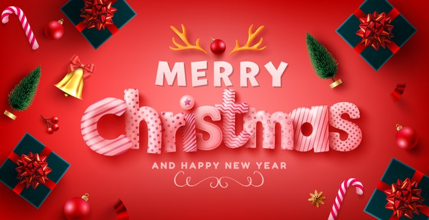merry christmas and happy new year 2020 wallpaper hd