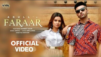 Photo of Faraar song Akull and Avneet Kaur lyrics and mp3 download