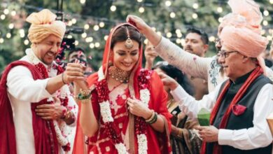 Photo of Dia and Vaibhav tie the knot: An intimate wedding to Cherise!