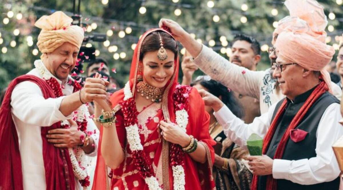 Dia and Vaibhav tie the knot: An intimate wedding to Cherise!
