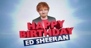 ed sheeran birthday bash!