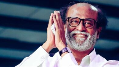Photo of Rajinikanth bestowed with Dadasaheb Phalke award