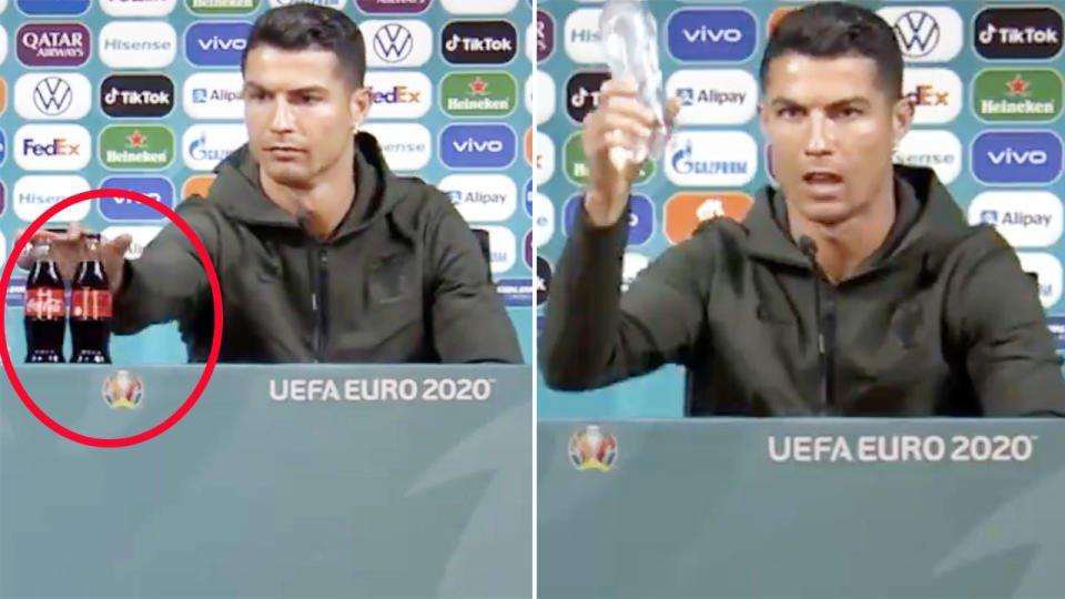 Coca-Cola and Cristiano Ronaldo
