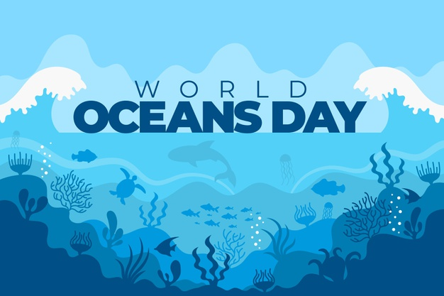 world ocean day 2021 drawing competition poster