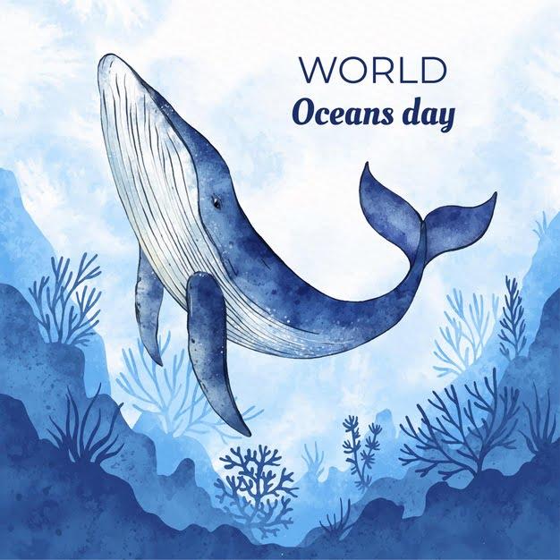 world ocean day 2021 poster