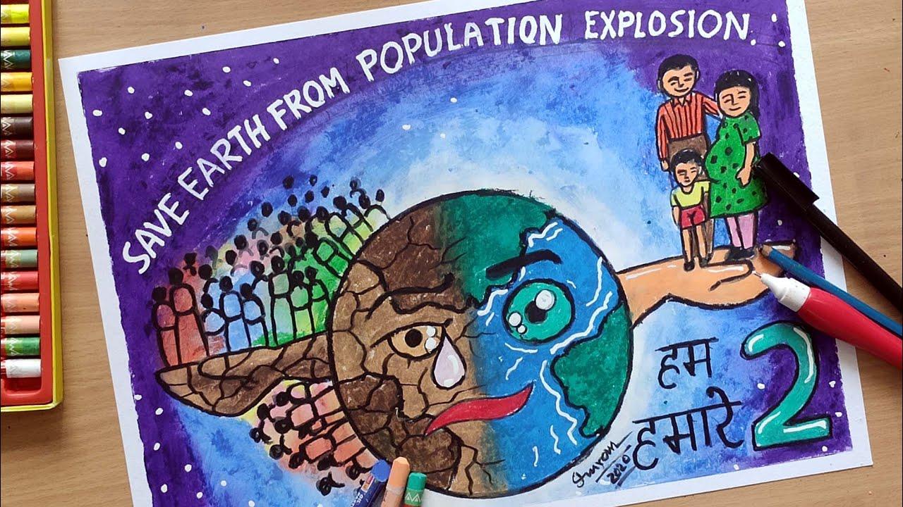 overpopulation drawings