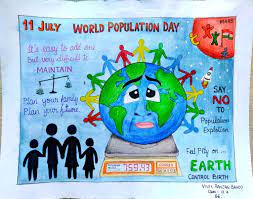 population day drawings