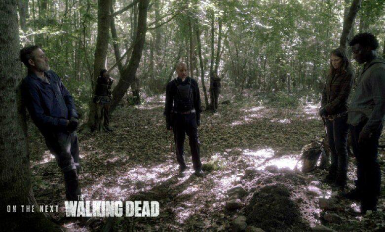 A scene from 'The Walking Dead' Season 11 Episode 7