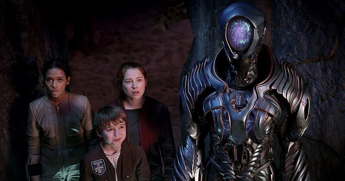 Lost in Space Season 3 - kids disbanded from their parents.
